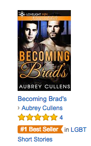 Becoming Brad's #1 Best Seller!